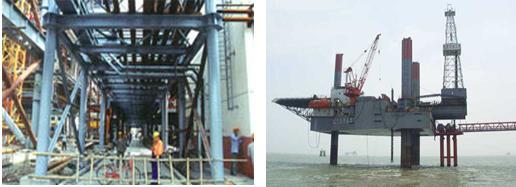 钢结构是由生铁结构逐步发展起来的,中国是最早用铁制造承重结构的