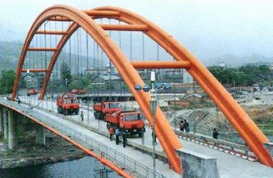 圈截面型式 板拱桥 肋拱桥 双曲拱桥 箱形 拱桥 钢管混凝土拱 劲性骨