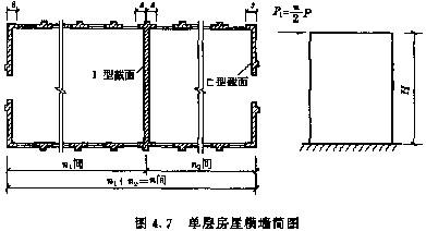 纵墙顶端水平位移比弹性方案要小